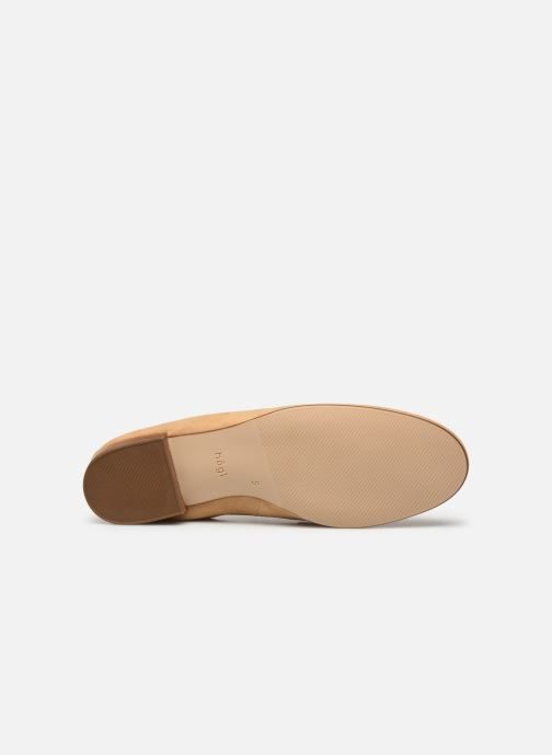 Mocassins HÖGL Pillow Beige vue haut