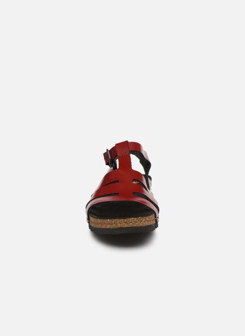 Sandales et nu-pieds Art Creta 1256 Rouge vue portées chaussures