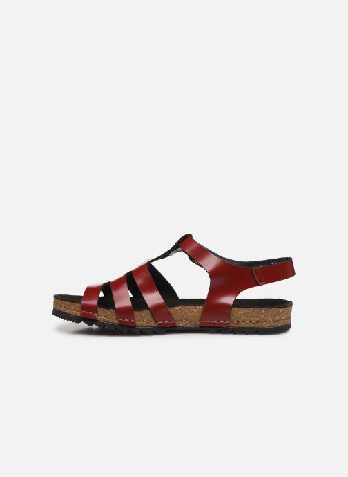 Sandales et nu-pieds Art Creta 1256 Rouge vue face