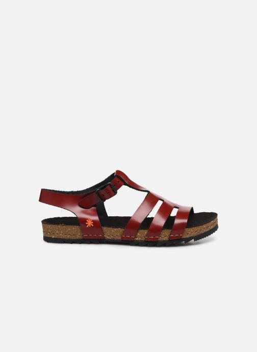 Sandales et nu-pieds Art Creta 1256 Rouge vue derrière