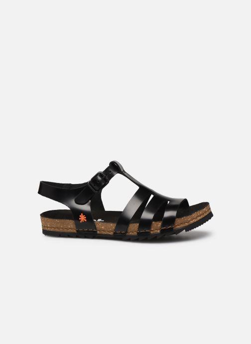 Sandales et nu-pieds Art Creta 1256 Noir vue derrière