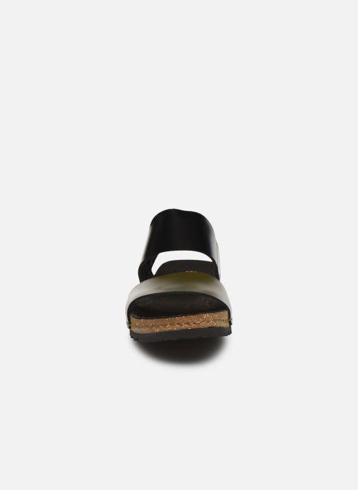 Sandali e scarpe aperte Art Creta 1257 Nero modello indossato
