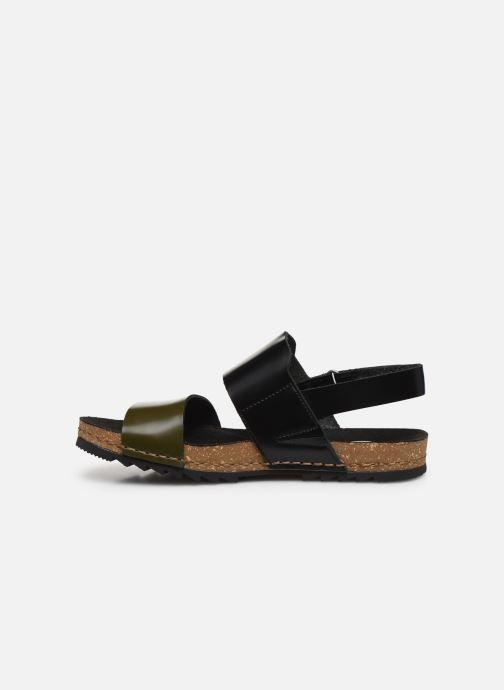 Sandali e scarpe aperte Art Creta 1257 Nero immagine frontale