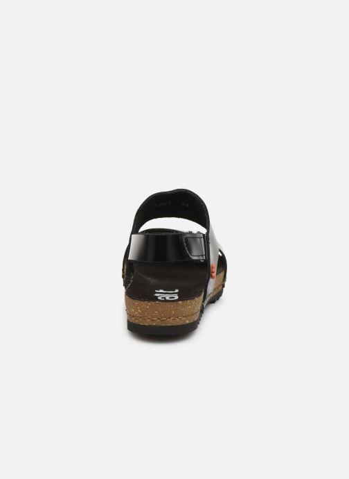 Sandali e scarpe aperte Art Creta 1257 Nero immagine destra