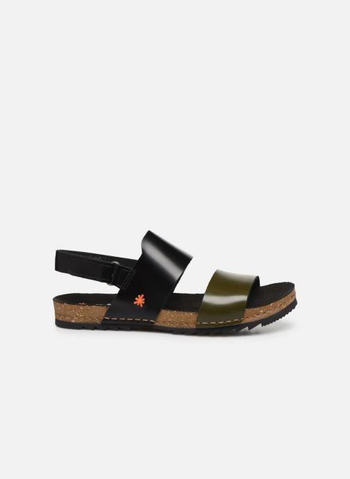 Sandali e scarpe aperte Art Creta 1257 Nero immagine posteriore