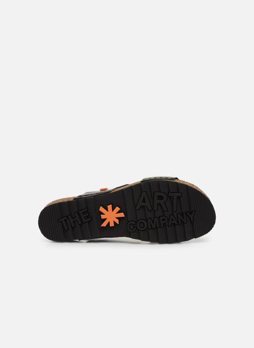Sandali e scarpe aperte Art Creta 1257 Nero immagine dall'alto