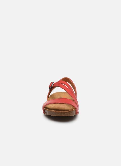 Sandalias Art I Breathe 1045 Rojo vista del modelo