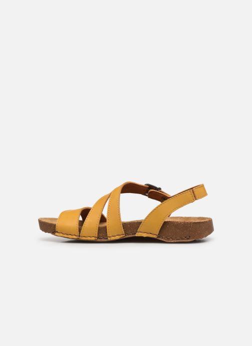 Sandali e scarpe aperte Art I Breathe 1045 Giallo immagine frontale