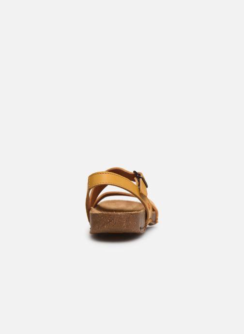 Sandali e scarpe aperte Art I Breathe 1045 Giallo immagine destra