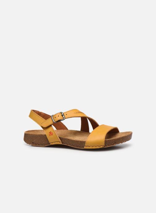 Sandali e scarpe aperte Art I Breathe 1045 Giallo immagine posteriore