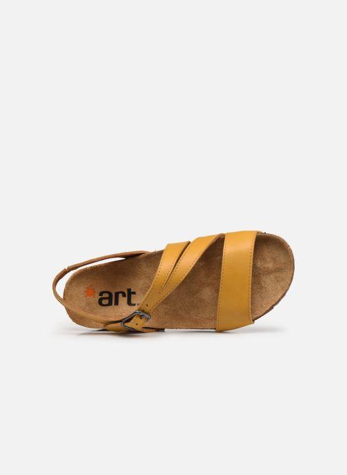 Sandali e scarpe aperte Art I Breathe 1045 Giallo immagine sinistra