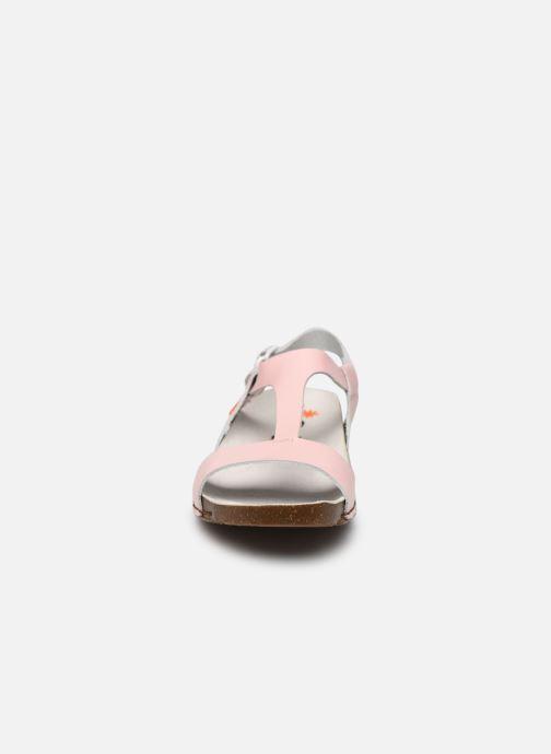 Sandali e scarpe aperte Art I Breathe 990 Rosa modello indossato