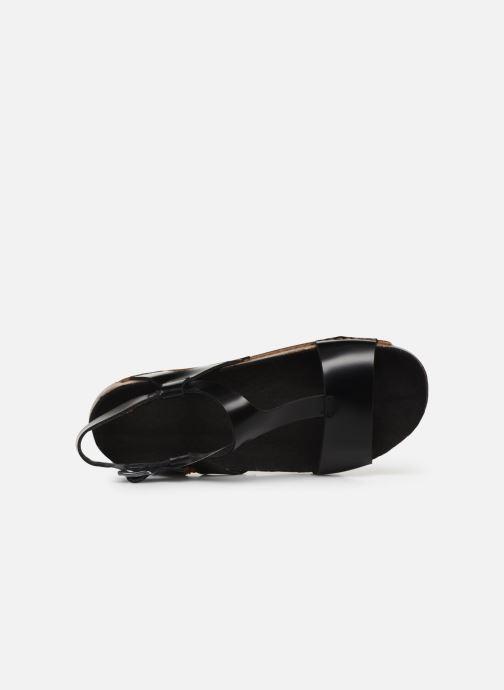 Sandales et nu-pieds Art I Breathe 990 Noir vue gauche