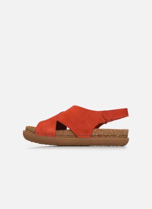 Sandali e scarpe aperte Art Rhodes 1710 Arancione immagine frontale