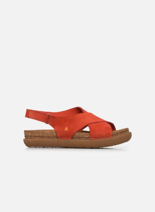 Sandali e scarpe aperte Art Rhodes 1710 Arancione immagine posteriore