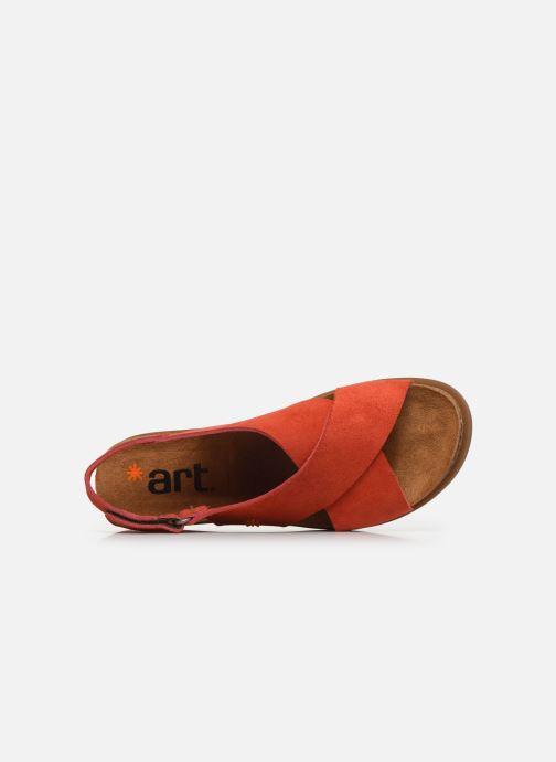 Sandali e scarpe aperte Art Rhodes 1710 Arancione immagine sinistra