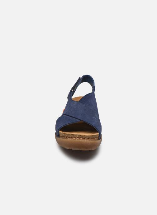 Sandales et nu-pieds Art Rhodes 1710 Bleu vue portées chaussures