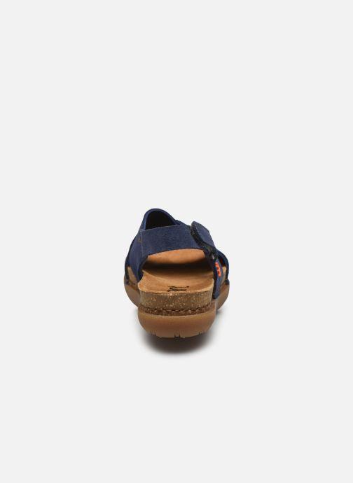 Sandales et nu-pieds Art Rhodes 1710 Bleu vue droite