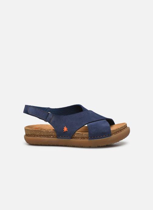 Sandales et nu-pieds Art Rhodes 1710 Bleu vue derrière