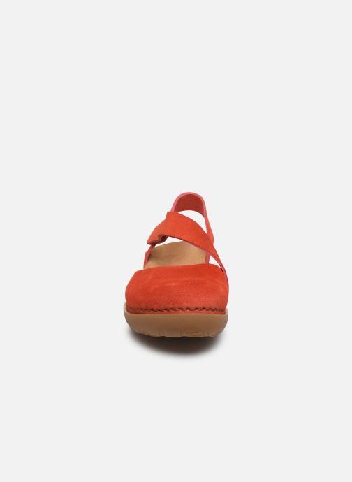 Sandales et nu-pieds Art Rhodes 1712 Orange vue portées chaussures