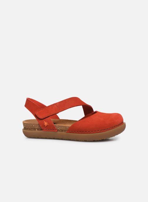 Sandales et nu-pieds Art Rhodes 1712 Orange vue derrière
