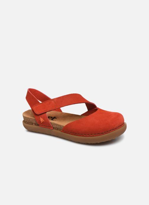 Sandales et nu-pieds Art Rhodes 1712 Orange vue détail/paire