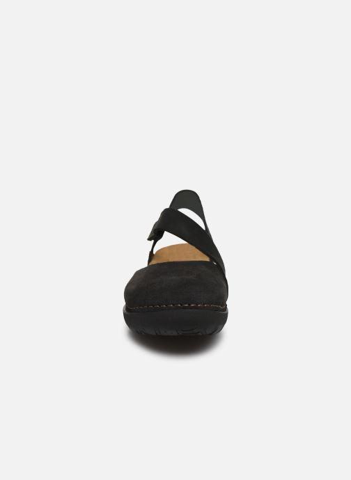 Sandales et nu-pieds Art Rhodes 1712 Noir vue portées chaussures