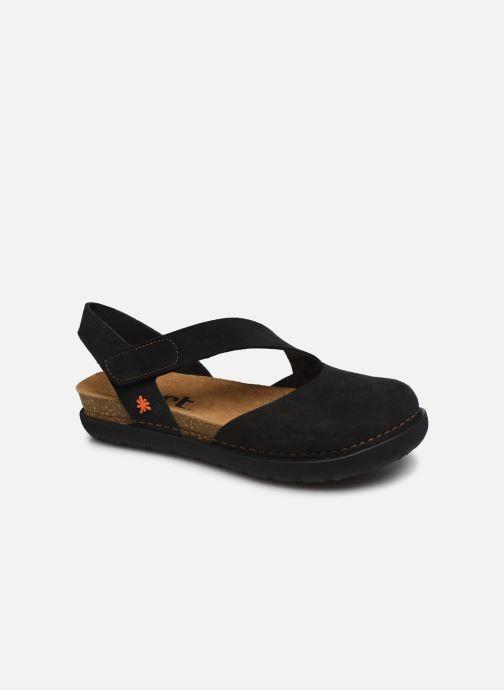 Sandales et nu-pieds Art Rhodes 1712 Noir vue détail/paire