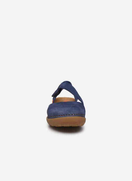 Sandales et nu-pieds Art Rhodes 1712 Bleu vue portées chaussures
