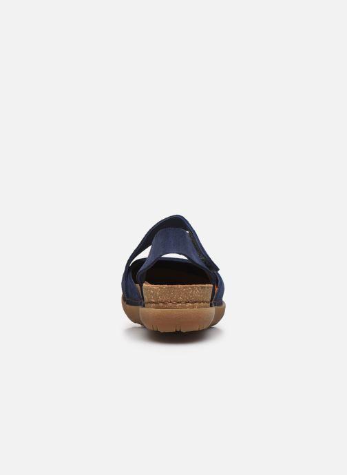 Sandales et nu-pieds Art Rhodes 1712 Bleu vue droite