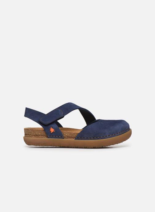 Sandales et nu-pieds Art Rhodes 1712 Bleu vue derrière