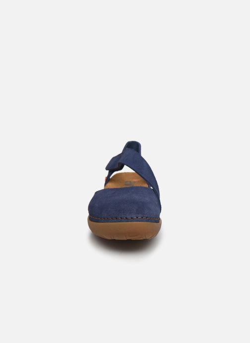 Sandali e scarpe aperte Art Rhodes 1712 Azzurro modello indossato