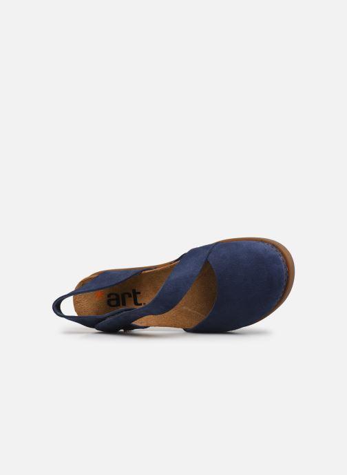 Sandali e scarpe aperte Art Rhodes 1712 Azzurro immagine sinistra