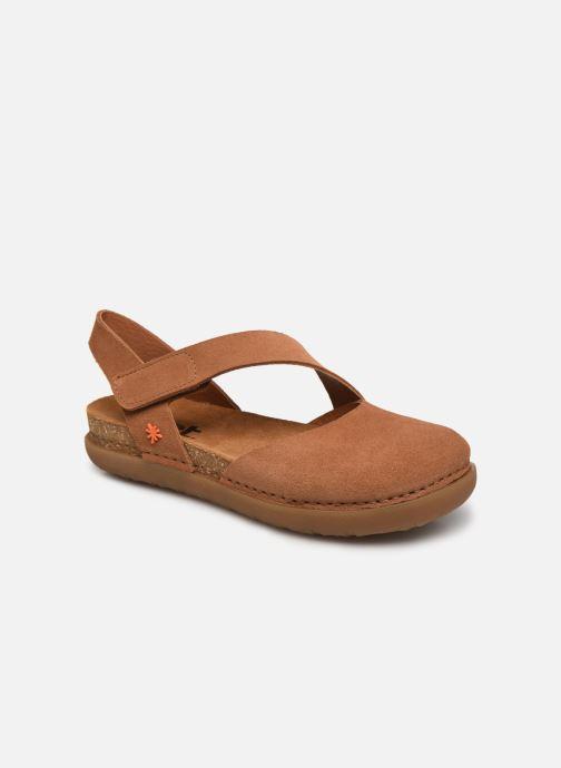 Sandales et nu-pieds Art Rhodes 1712 Marron vue détail/paire