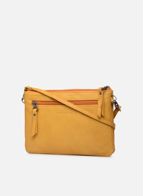 Handbags Sabrina Suzanne Yellow view from the right