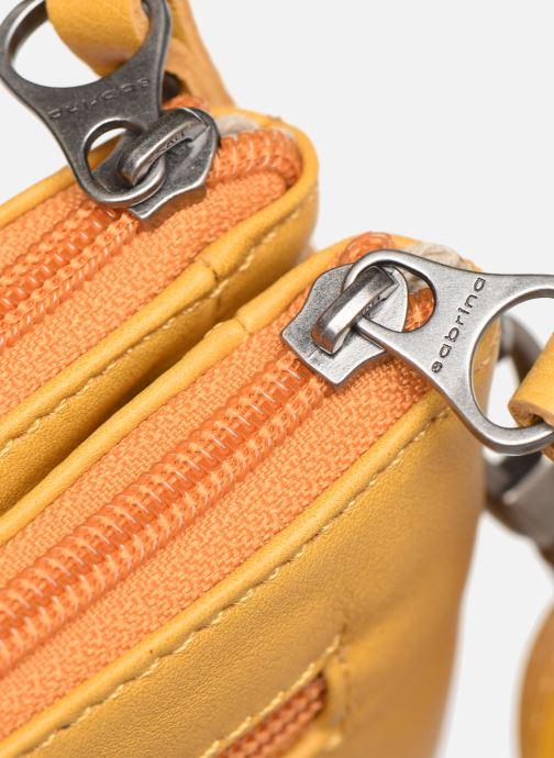 Bolsos de mano Sabrina Suzanne Amarillo vista lateral izquierda