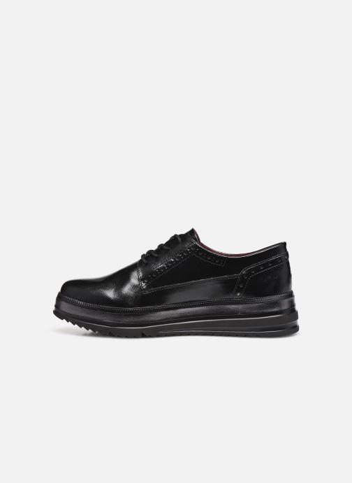 Chaussures à lacets Tamaris 23710 Noir vue face