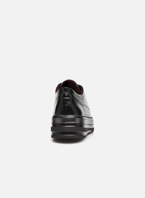 Chaussures à lacets Tamaris 23710 Noir vue droite