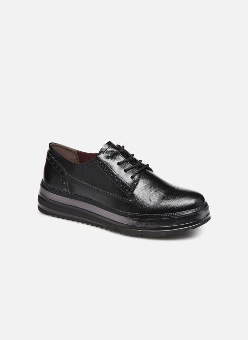 Chaussures à lacets Tamaris 23710 Noir vue détail/paire