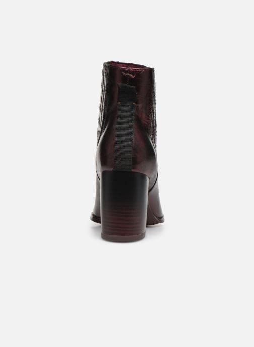 Bottines et boots Tamaris 25018 Bordeaux vue droite