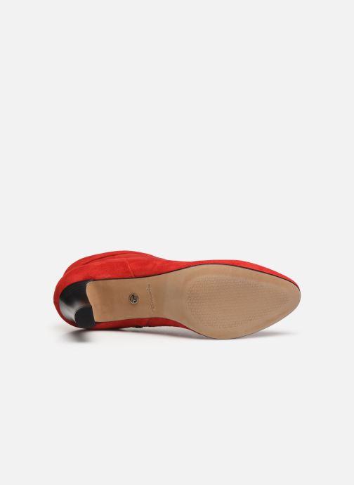 Bottines et boots Tamaris 25329 Rouge vue haut