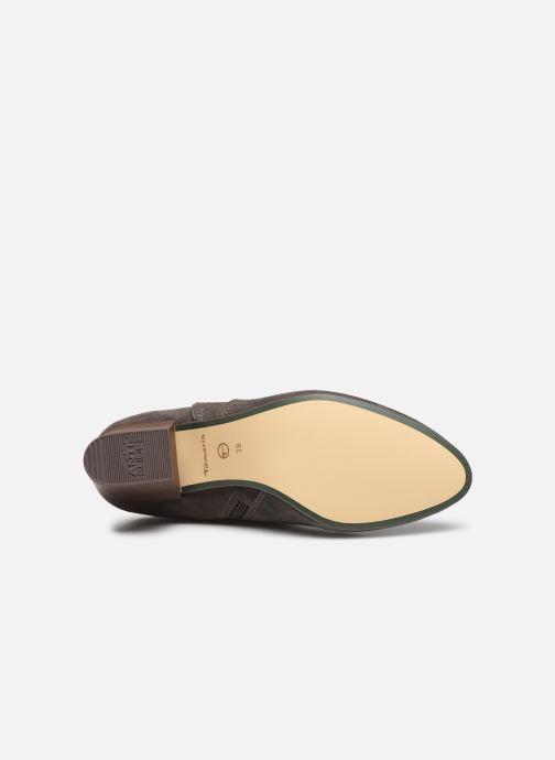 Bottines et boots Tamaris 25362 Gris vue haut