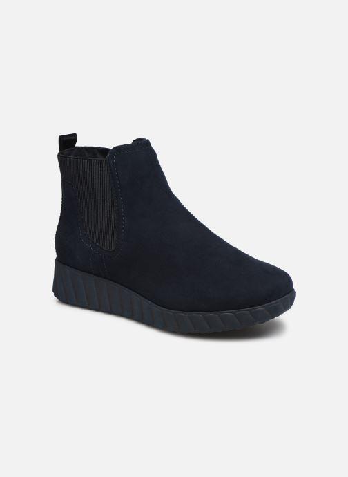 Bottines et boots Tamaris 25485 Bleu vue détail/paire