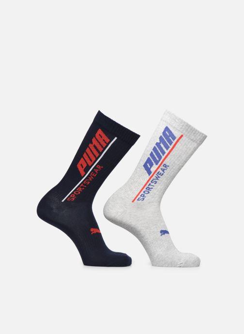 Calze e collant Puma Socks PUMA MEN LOGO SOCK 2P Grigio vedi dettaglio/paio
