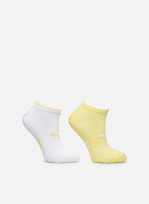 Chaussettes et collants Puma Socks PUMA SNEAKER STRUCTURE 2P WOMEN Blanc vue détail/paire