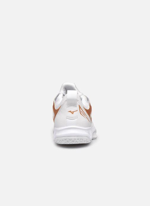 Chaussures de sport Mizuno Ghost Shadow - W Blanc vue droite