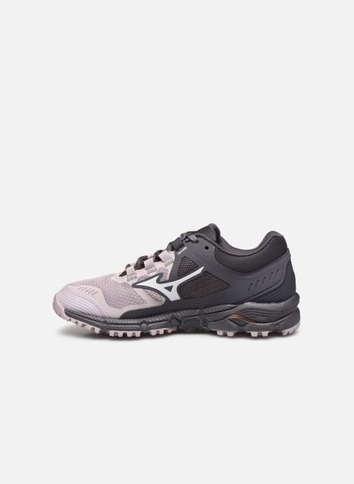 Chaussures de sport Mizuno Wave Daichi 5 - W Gris vue face