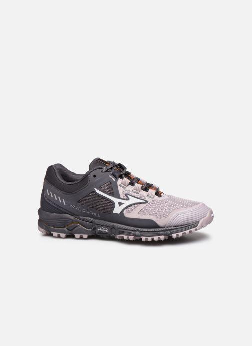 Chaussures de sport Mizuno Wave Daichi 5 - W Gris vue derrière