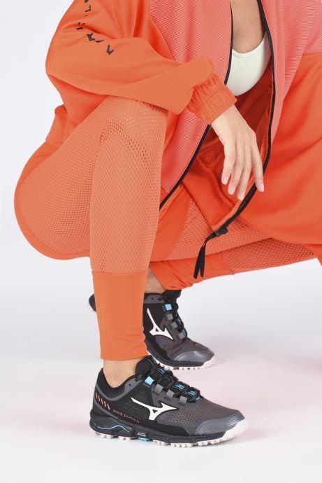 Sportschuhe Mizuno Wave Daichi 5 - W grau ansicht von unten / tasche getragen