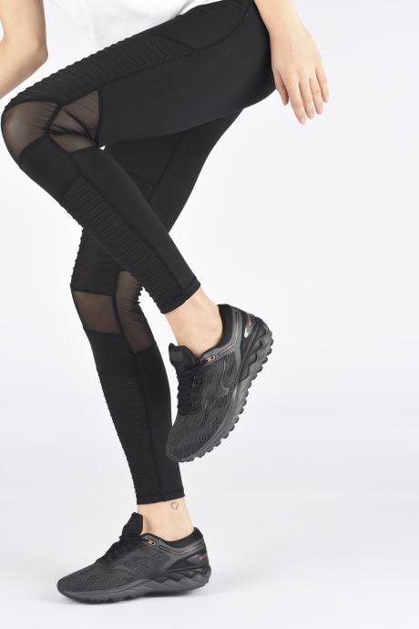 Chaussures de sport Mizuno Wave Skyrise - W Noir vue bas / vue portée sac